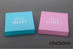 Baby cadeau doos Boy or Girl